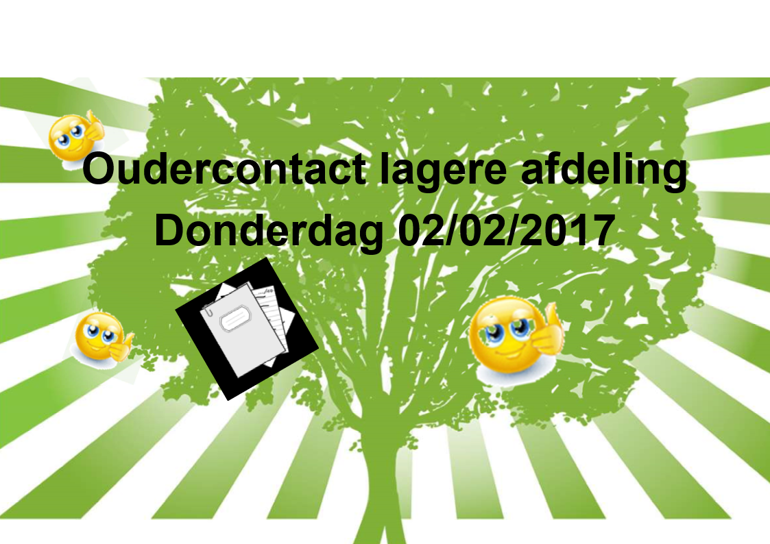 2017 02 02 FB oudercontact lagere afdeling afbeelding 1
